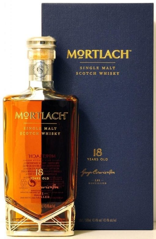 Mortlach 18 510x779 - NV Mortlach 18YO 1x500ml