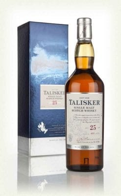 talisker 25 year old whisky 247x401 - NV Talisker 25YO 2017 edition 1x700ml