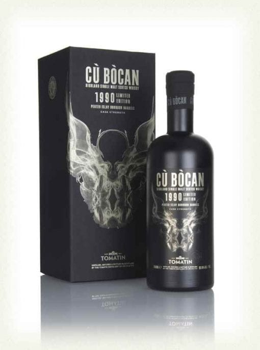 tomatin cu bocan 1990 whisky 510x687 - NV Tomatin Cu Bocan 1990 limited edition peated Islay 1x700ml